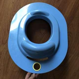 Portable baby toilet seat
