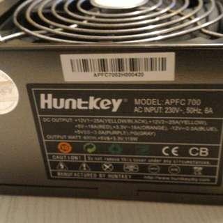 HUNTKEY 600W PC Power supply 火牛
