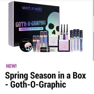 [IN STOCK] Wet n Wild Goth-O-Graphic Spring 2018 Collection