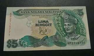 RM5 Siri Keenam Cross 1986-1995