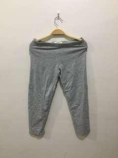 F21 Gray Capri Leggings