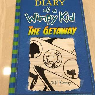 Diary Of A Wimpy Kid: the getaway (like new!)
