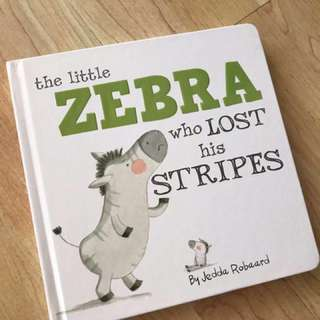 The Little Zebra Who Lost Hua Stripes Book