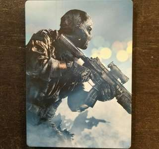 Xbox 360 Call Of Duty Ghosts Steelbook + Game