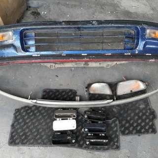 Front bumper Honda Civic SH3 EF9