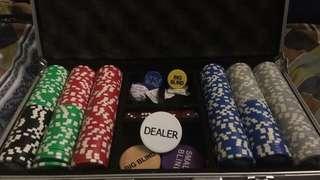 Poker Set (close to brand new)