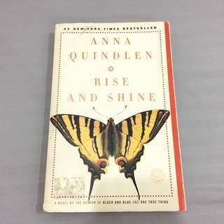 Anna Quindlen: Rise and shine