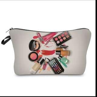 Stylish makeup pouch