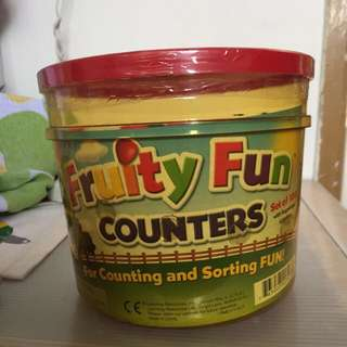 Learning Resources Fruit Counters