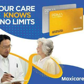 Maxicare Health Card for Seniors and below