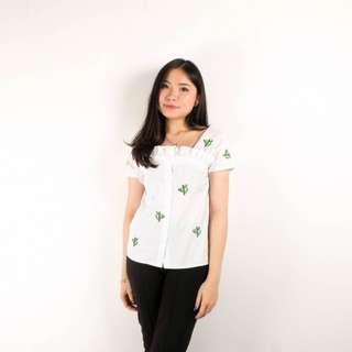 foya cactus blouse