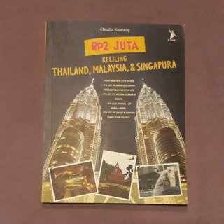 Buku '2 juta keliling thailand,malaysia,& singapura' #UBL2018