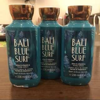 Bath & Body Works Bali Blue Surf Lotion