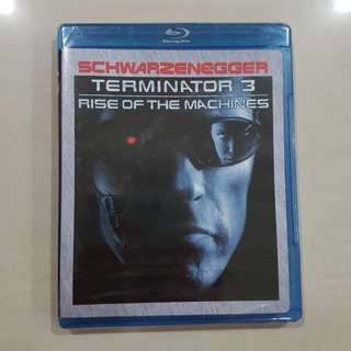 Terminator 3 Rise Of The Machine, Blu-ray
