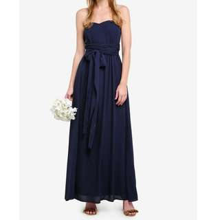 BRAND NEW Bridesmaid or Wedding Multi-Way Bustier Maxi Infinity Dress