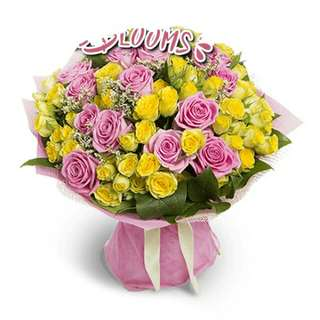 Beautiful Fresh Flower Surprise for Special One Bouquet V6 - FJODL