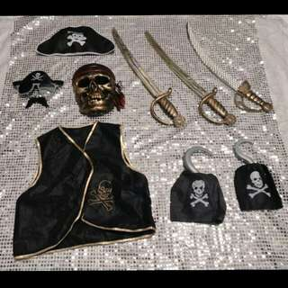 All For $30 SALE! PIRATES Props (Photobooth)
