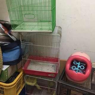 Kandang hamster 3 pcs