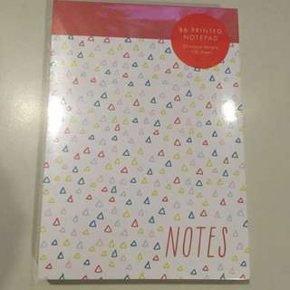 New!! Kikki.k B6 Printed Notepad - 120 sheets