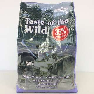 Taste Of The Wild Sierra Mountain Canine Dry Dog Food