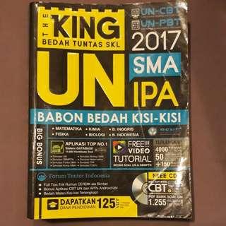 Buku THE KING UN SMA IPA 2017 #UBL2018