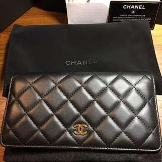 Chanel woc金鍊羊皮