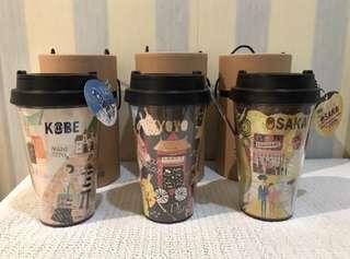 Starbucks Japan geography seriea tumbler