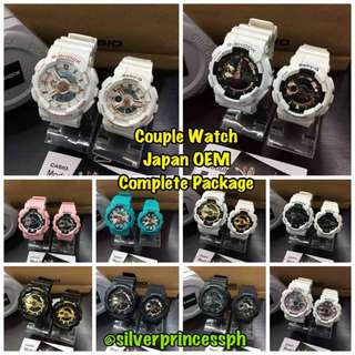 Couple G-SHOCK (JAPAN OEM)