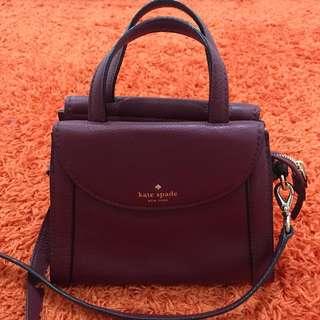 Kate Spade Bag Maroon