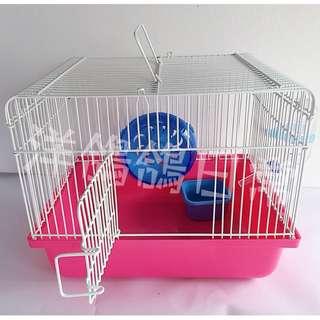 《老鼠窩、老鼠籠子》桃粉色、輕便可愛老鼠窩