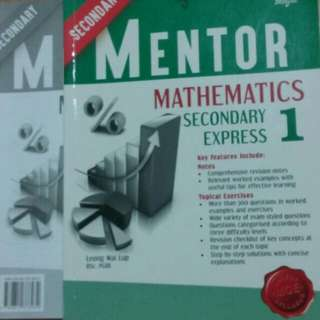 Mentor Mathematics Secondary 1 Express