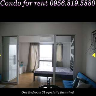 One bedroom fully furnished