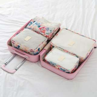 Travel Organiser Bag 6pc set