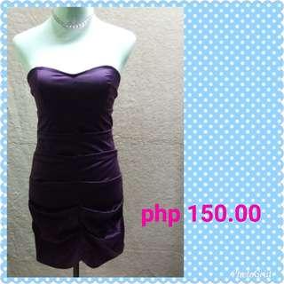 Sexy violet tude dress