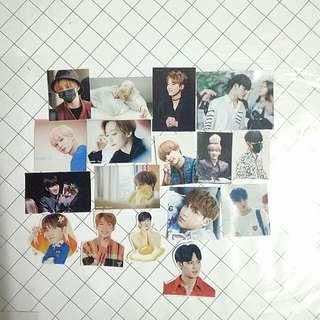 SVT Mingyu Jeonghan Wonwoo Stickers Seventeen