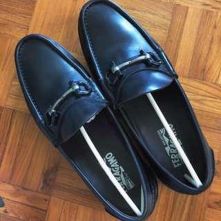 Salvatore Ferragamo Leather Loafer Shoe