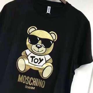 ♨️ #Moschino 男款 小🐻短Tee #M L XL優惠價🔥🔥🔥