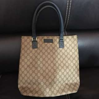 Pre-owned Gucci Handbag (abt 31cm x 33cm) 60% New
