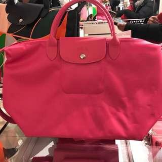 Longchamp pink large