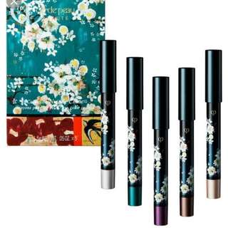 Cle de Peau Beaute Nuit de Chine eye color pencils