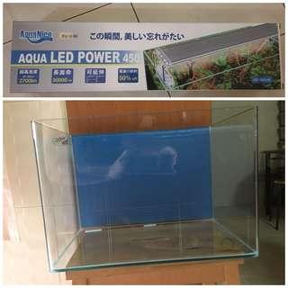 Aquarium Fish Tank and Light