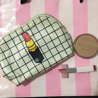 Get all for 500php! 💓 authentic rimmel bronzer, korean two tone lipstick, makeup kit