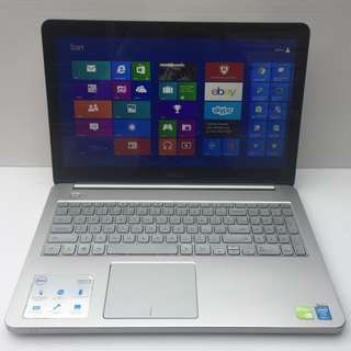 """[USED] DELL Inspiron 15 7537,  i7-4500U 1.80GHz (Turbo 3.00 GHz), 8GB RAM, 1TB HDD, NVIDIA GeForce GT 750M 2GB, 15.6"""" Touch Screen, Backlit Keyboard, Condition Like NEW"""
