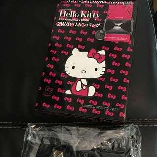Hello Kitty 35th Anniversary Book with Mini Bag, 100% New