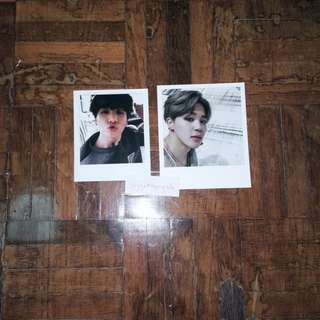 JUNGKOOK Young Forever PC / JIMIN Wings PC