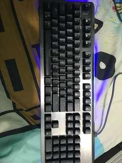 E-BLUE 青軸鍵盤