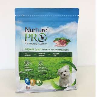 Nurture Pro Original Lamb Small and Medium Dog Dry Puppy Food