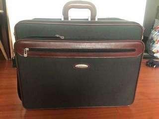 Vintage suitecase luggage