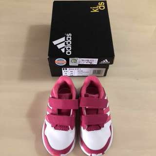 🤼♀️ADIDAS🤼♀️ Authentic Girls' Pink Snice 4 CF Toddlers/ Children/ Kids Shoes/ Sneakers (Size: UK6K) [S/N: 81486]