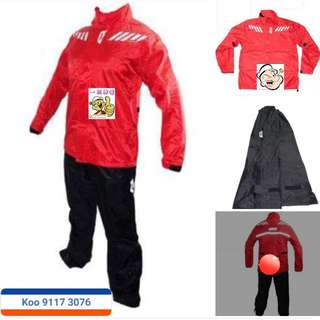 0603*** Givi Raincoat RRS04 Black & Red 🤣🤣Thanks To All My Buyer Support 👌👌